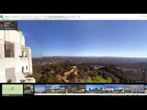 Quick Los Angeles City tour video using photo spheres, photos and maps. Tour of Los Angeles video