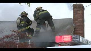 live wires come down on fire engine in Bellingham