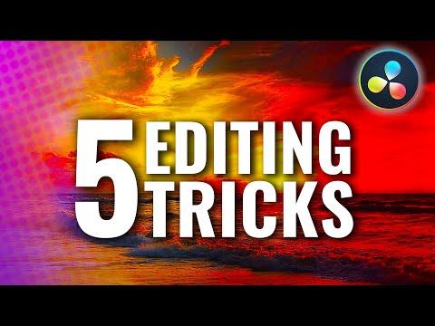 5 Little Video Editing TRICKS that make a BIG Difference! | Davinci Resolve Tutorial