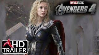 Avengers 4: ENDGAME - TEASER TRAILER #2 - Josh Brolin, Brie Larson Film (CONCEPT)