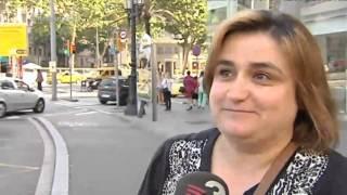 TV3 - Els Matins - La vaga dels taxistes deixa Barcelona sense servei