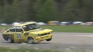 Best of SOUND, SPEED, ACTION and FAIL at Slalom Saanen 2013. Opel, BMW,  Mini, Honda Civic