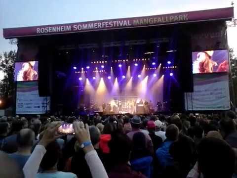 """Söhne Mannheims & CR7Z live """"Der Deutsche Michel"""" auf Sommerfestival Rosenheim 2017"""