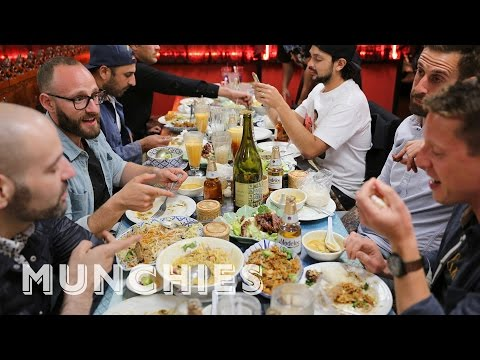 Mountains of Thai Food in LA: Chef's Night out with Louis Tikaram