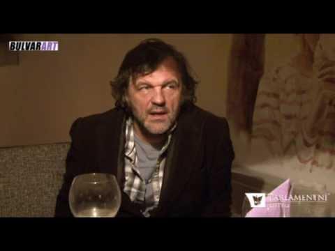 BulvarART present interview Emir Nemanja Kusturica in Andricgrad 2015 (CZ)