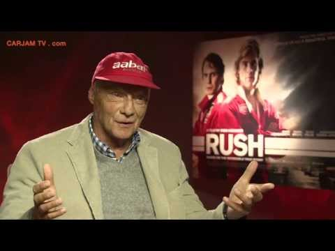 Niki Lauda Talks RUSH Movie 2013 Niki Lauda Interview on James Hunt + F1 2013 Carjam TV HD