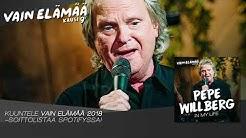 Pepe Willberg - In My Life (Vain elämää -konserttiliput nyt myynnissä)