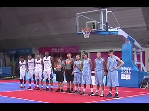 Uruguay - Puerto Rico | Basketball 3x3 U18 | JJOO Nanjing 2014