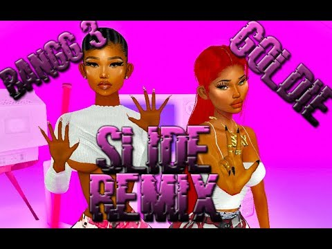 Bangg 3 ft. Goldie - Slide Remix (IMVU Music Video) Animated