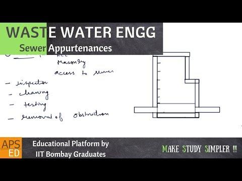 Sewer Appurtenances | Waste Water Engineering