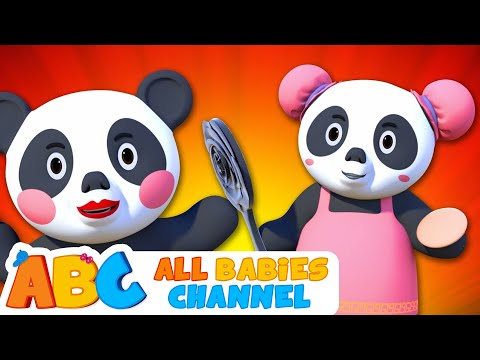 The KUNG FU PANDA FAMILY SONG 3D Nursery Rhymes For Babies By All Babies Channel | Kids Songs