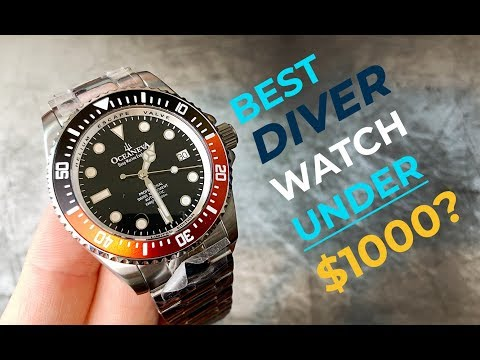 OCEANEVA DEEP MARINE EXPLORER 1000m PRO DIVE WATCH - Best Dive Watches - First Impressions Review