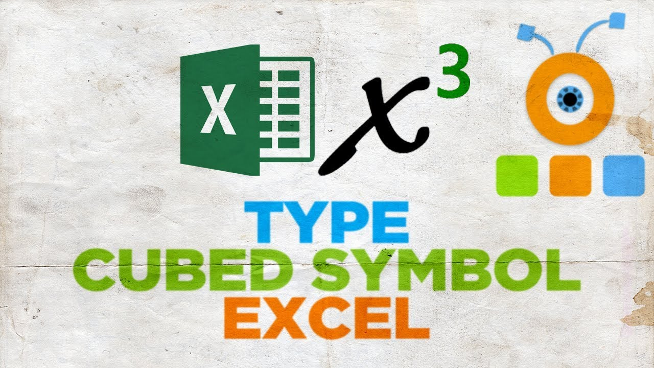 How To Type A Cubed Symbol In Excel How To Insert A Degree Symbol