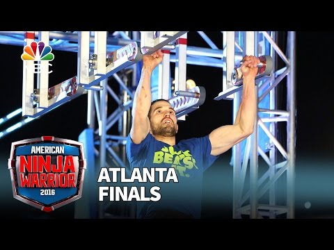 "James ""The Beast"" McGrath at the Atlanta Finals - American Ninja Warrior 2016"