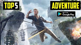 Top 5 Best ADVENTURE Games for Android in 2020 | HIGH GRAPHICS (Offline)