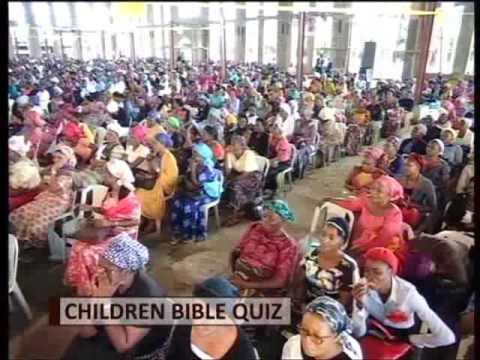 Children Bible Quiz Children Day Sun 21st Aug 2016 Youtube