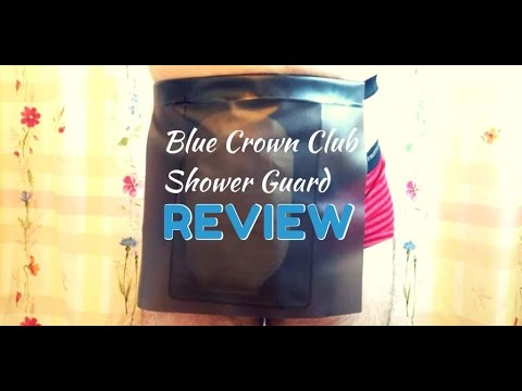 Blue Crown Club Ostomy Shower Guard: REVIEW