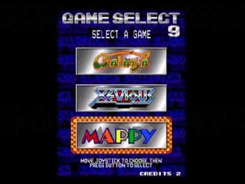 Namco Collection Vol 1 versi arcade di Raspberry Pi 3