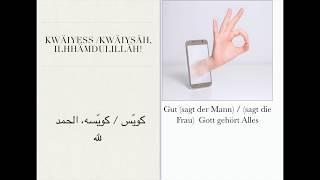 Wichtige Sätze Arabisch (Ägyptisch)