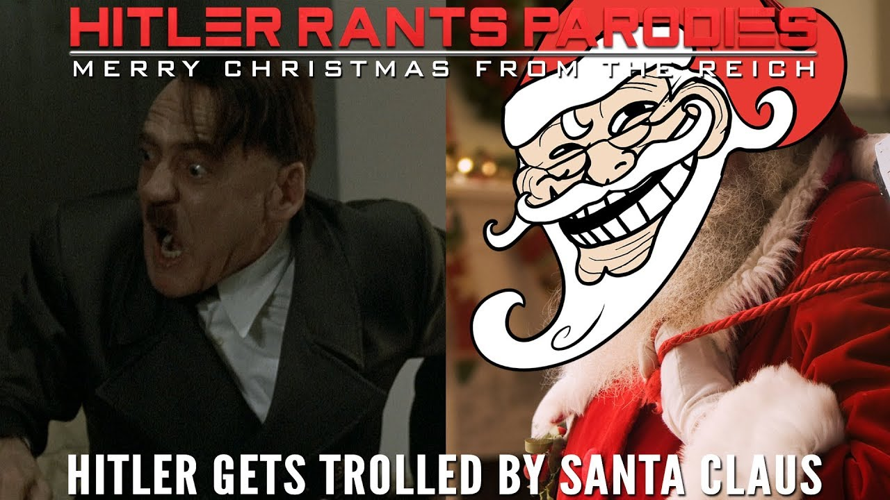 Hitler gets trolled by Santa Claus