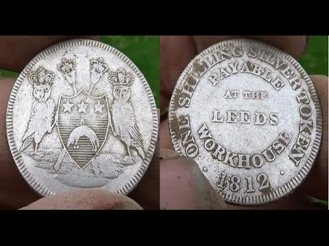 Metal Detecting UK (735) XP Deus - 1812 Silver Shilling Token
