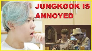 Is Jungkook Caring Hyung or Strict Hyung Taekook Vkook moments Reaction   BTS Reaction