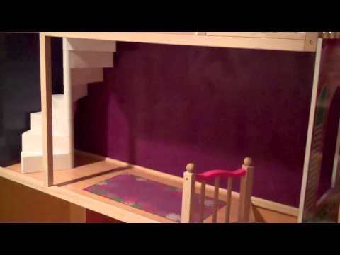 """The Making of a KidKraft 18"""" Doll Dollhouse!"""