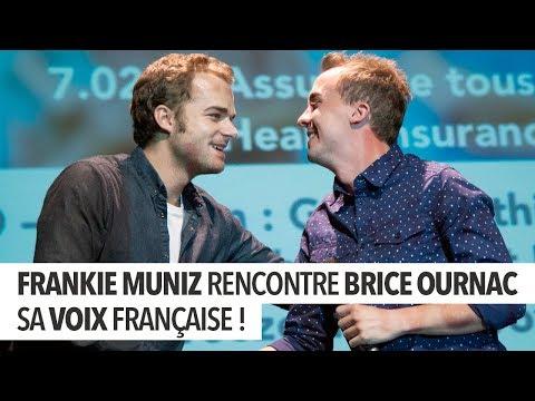 Vidéo Frankie Muniz rencontre sa voix française !