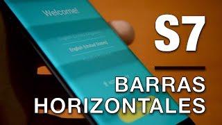 Samsung Galaxy S7 pantalla lineas horizontales