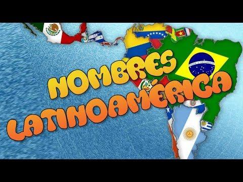 Significado Nombres de países de Latino América 🌟 Curiosas Noticias
