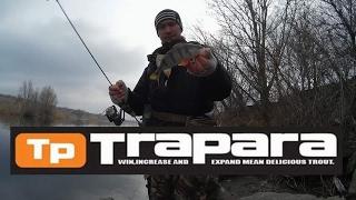 Рибалка з Major Craft Trapara