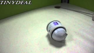 "(FMS-92974) iCUBOT 0.9"" LCD DIY Programmable MP3 Speaker Dancing Robot"
