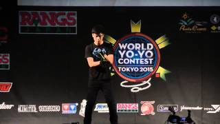 World YoYo Contest 2015 1A Semi Final Brandon Vu
