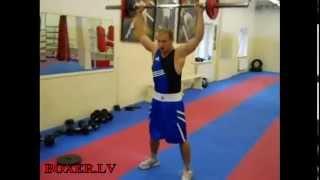 Круговая тренировка для бокса / CrossFit Boxing