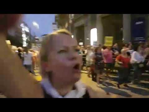 Manifestación de pensionistas en Madrid sábado 22 de septiembre
