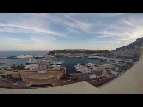 Penthouse Suite Time Lapse, Hotel Hermitage - Monaco Grand Prix