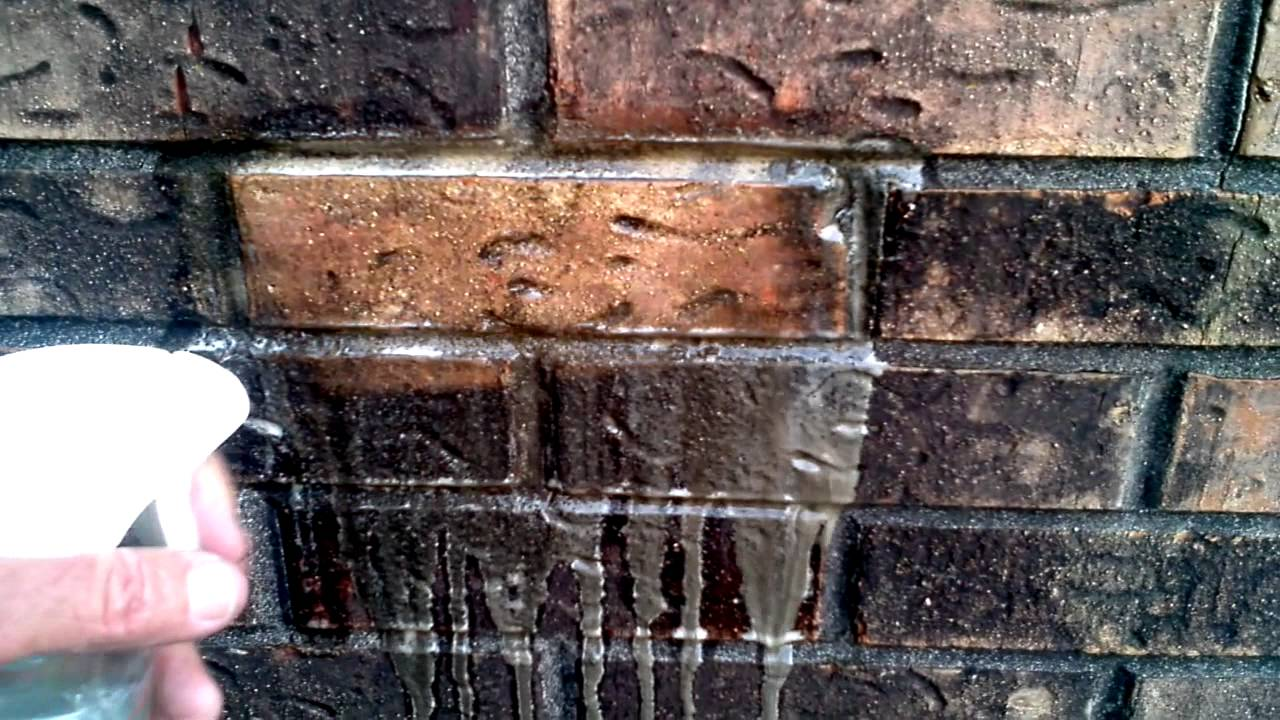 Cleaning Soot Off Brickwork