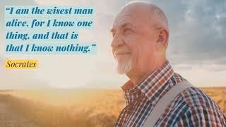 Socrates on true wisdom