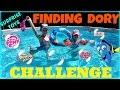Biggest Pool & Balloons Surprise Toys Hunt - FINDING DORY CHALLENGE - Shopkins Frozen My Little Pony