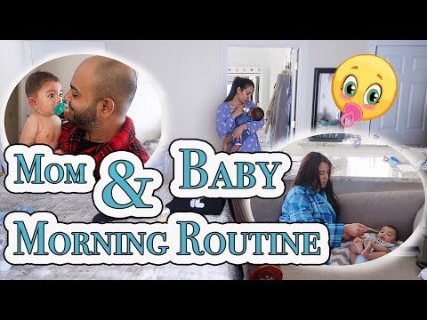#NewParents #MorningRoutine 6 Month Old Baby #newmom