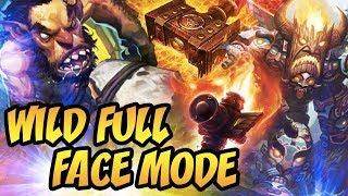 Hearthstone: Wild Full Face Mode