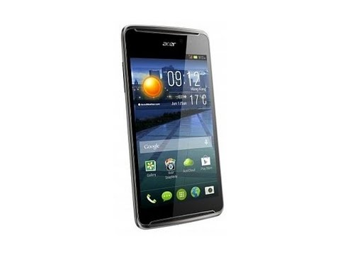 Acer E600 Hard Reset and Forgot Password Recovery, Factory Reset