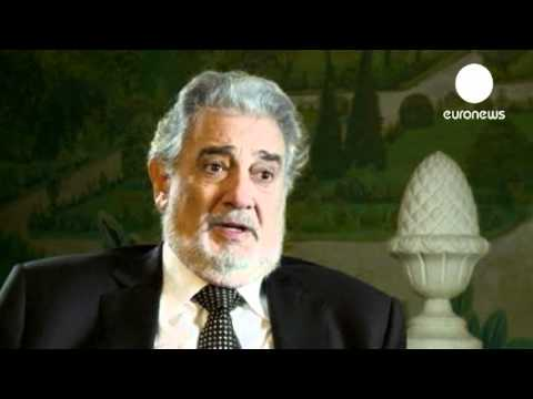 Placido Domingo short interview
