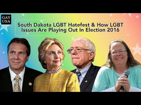 Gay USA: South Dakota LGBT Hatefest, How LGBT Issues Are Playing Out In Election 2016