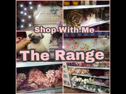 The Range - Shop with me !