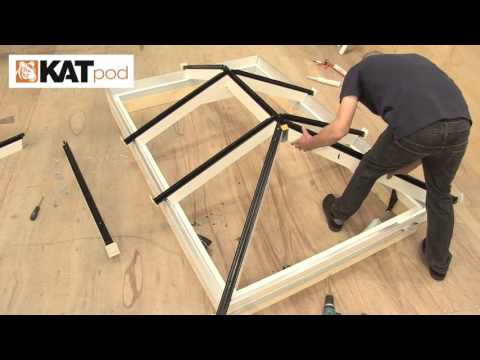 How To Install A Lantern Roof - KATpod