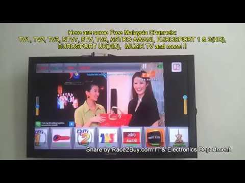 Replacing Astro by Malaysia IPTV Channels (No monthly Subscription. It's FREE!)