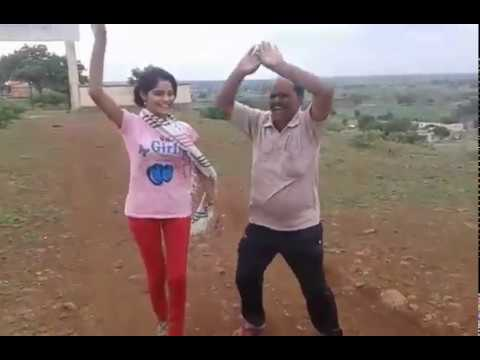 Halgi Vajati Aradhi Style | Gaodhi Dance | Young Girl & Old Man | Asal Marathi Dance Exclusive video