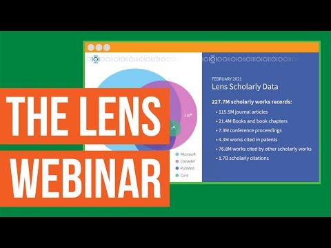 Webinar: Discover The Lens