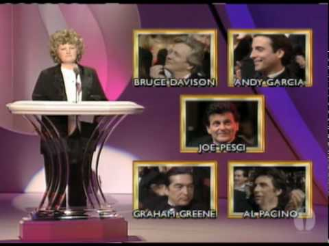 Joe Pesci Wins Supporting Actor: 1991 Oscars